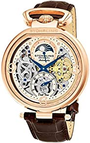 Stuhrling Original Wrist Watch for Women, Leather, 889.03