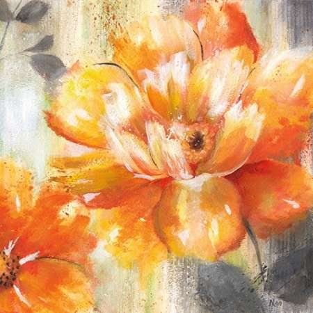 Feeling-at-home-Kunstdruck-Orange-Crush-II-cm60x60-Poster-fuer-Rahmen