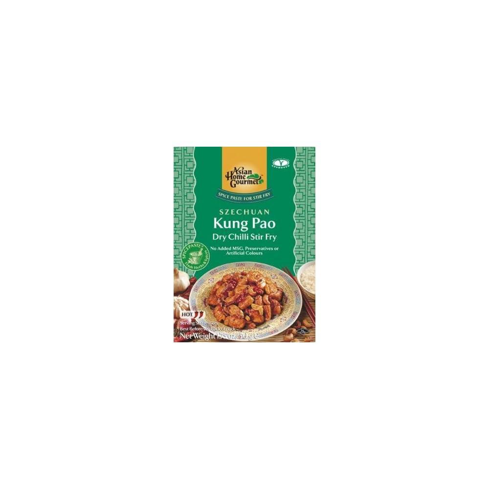 Asian Home Gourmet 50g Gewrzpaste Fr Szechuan Kung Pao Pfanne
