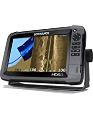 Lowrance HDS-9 Gen3 + Transductor 83/200 KHz + Transductor Structurescan HD