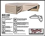 RHS250 Abdeckung für Lounge Eckset, passt am besten am Set von max. 245 x 245 cm.