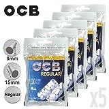 Lot de 5 Sachets de Filtres - OCB Regular