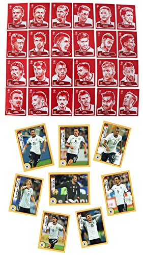 Panini McDonald´s + Coca Cola Sticker Komplett-Set UEFA EURO 2016 FRANCE