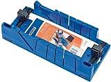 Gehrungslade mit CLAMPNG FACILITY370MM x 120 mm x 70 mm - Designer geformt aus hochwertigem Kunststoff außergewöhnliche Stabilität zu verleihen. Zwei Klemmen mit Federkern für das Halten von Werkstück. Zwei 45°, zwei 22.5° und einer 90° führt die zwei Kanten mit seitlichem auf 45° für größere Abschnitte von Materialien. Zwei Blendenstufen Bank Kante an der Unterseite, Bewegung zu verhindern während der Arbeit. Schlitze der Boden verfügt über zwei versenkte für die dauerhafte Befestigung an Bank. Wird lose verkauft.