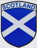 Scotland Macdonald Sporrans Caleçon design drapeau écossais St Andrews autocollant en vinyle pour voiture représentant le drapeau de la croix