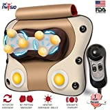 Dr Trust 3D Cushion Massager With Heat & Speed Controller For Back Cervical & Neck Pain Relief