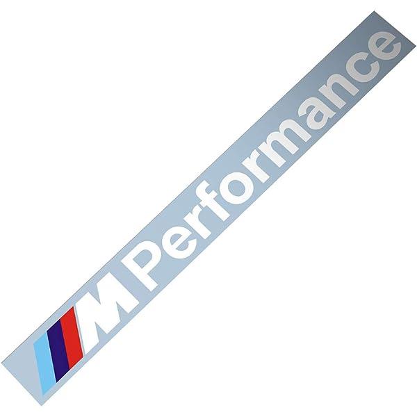 Demupai Windschutzscheibe Banner Vinyl Aufkleber Für M Performance Old Font Auto