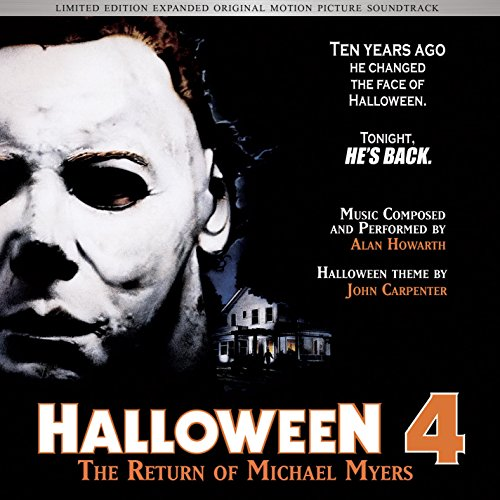 Halloween 4 - The Return of Michael Myers Expanded Soundtrack CD