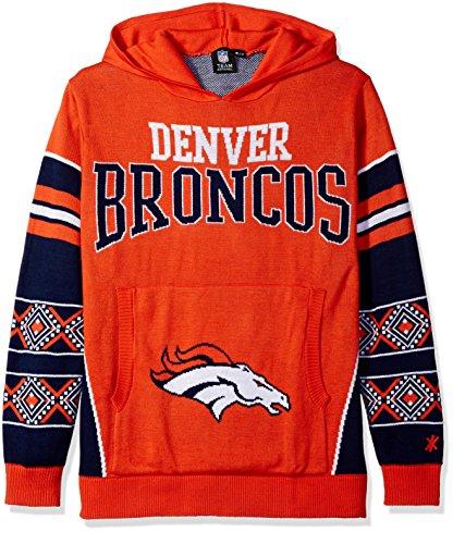 Forever Collectibles Denver Broncos Big Logo Hooded Sweater groß -