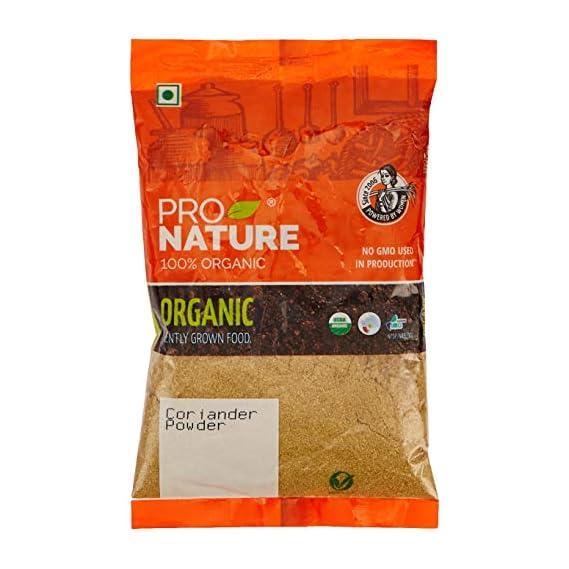 Pro Nature 100% Organic Coriander Powder, 100g