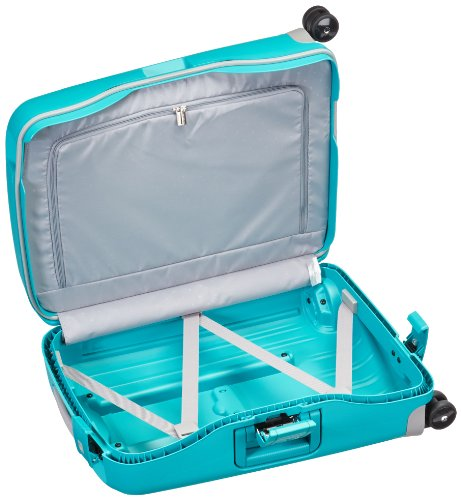 Samsonite Hand Luggage, 34 Liters, 55X40X20 cm,Aqua Blue