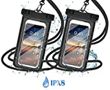 Waterproof Phone Case Universal IPX8 Waterproof Pouch Dry Bag Outdoor Sports Watertight Sealed
