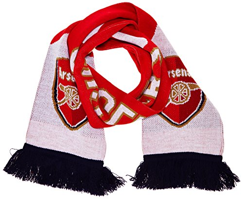 PUMA Schal Arsenal Fan Scarf, High Risk Red/White/Estate Blue, One Size, 052637 01 -
