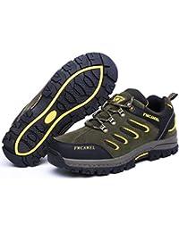 FMCAMEL Mountain Warehouse Chaussures Homme Femme Randonnée Imperméable Boots Marche Adventurer,Idéales pour le Trekking et les Promenades
