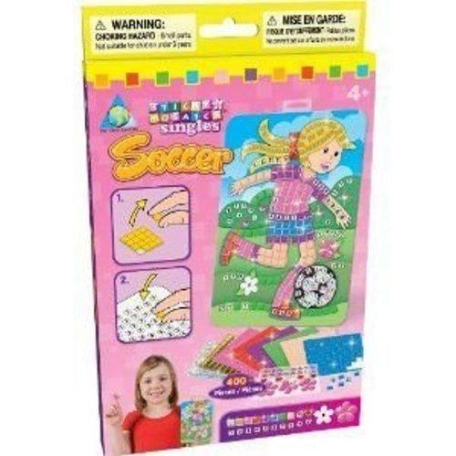 Orb Factory-orb64624-Sticky Mosaik Singles Fußball