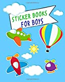 Sticker Books for Boys: Blank Sticker Book