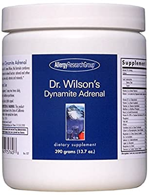 Allergy Research Group - Dr. Wilson's Dynamite Adrenal 300 gms
