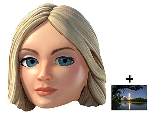 Kostüm Puppet String - Lady Penelope Thunderbirds Are Go Single Karte Partei Gesichtsmasken (Maske) Enthält 6X4 (15X10Cm) starfoto