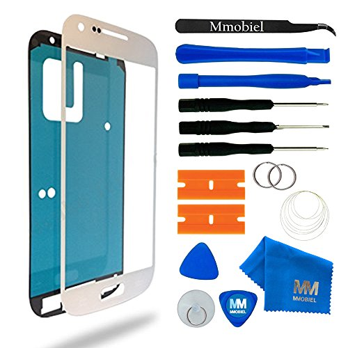 MMOBIEL Écran Tactile Compatible avec Samsung Galaxy S4 Mini i9190 i9195 Series (Blanc) avec Kit d'Outils Complet