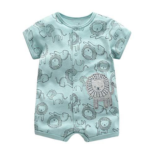 Bebé Pijama Niños Pelele Algodón Body Manga Corta