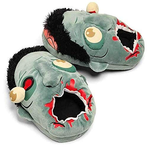 Zombie Plüsch Hausschuhe