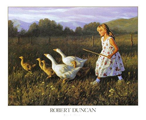 Robert Duncan Poster Kunstdruck Bild Back Home 50x61cm (Robert Duncan Bilder)