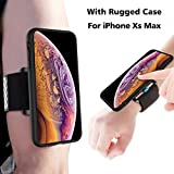 Product Description The Gelink iPhone Xs Max running kit is the ultimate Sports Armband for runners, joggers and gym goers. The Gelink Sports Armband fits comfortably on your arm or your wrist. No longer will you have to struggle trying to fit your p...