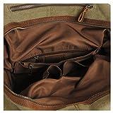 Estarer Reisetsache  Weekender Tasche aus Canvas Segeltuch Vintage 50 Liter - 5