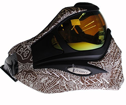 V-Force Grill Paintball Maske/Goggle - Limited Edition - Keltisches Erde -