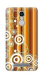 SWAG my CASE PRINTED BACK COVER FOR XIAOMI REDMI NOTE 3 Multicolor