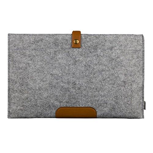 Housse MacBook Air / MacBook Pro Retina 11.6/13.3/15.4 Pouces, Housse fine en Feutre 11.6/13.3/15.4 Pouces
