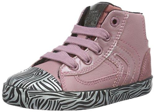 Geox B Kiwi D, Chaussures Marche Bébé Fille, Pink (Pink/BLACKC0115), 21 EU