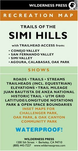 MAP Trails of the Simi Hills