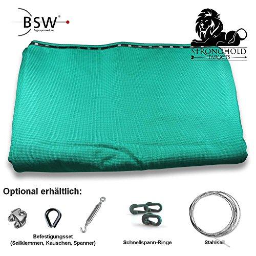 Stronghold Pfeilfangnetz Professional - grün - 3m breit x 2,9m hoch