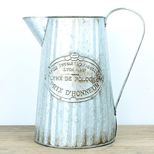 Grande French Gießkanne Blume Vase - Vintage Garden Vase