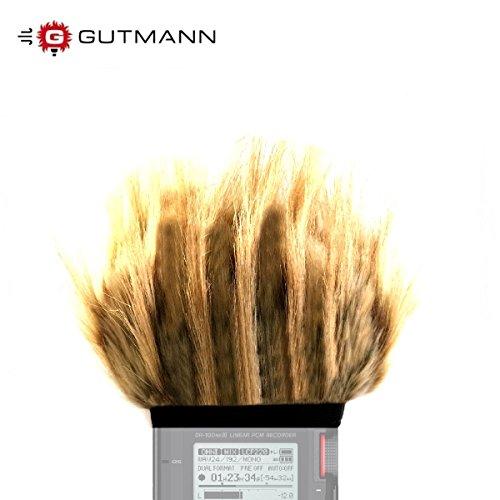 gutmann-mikrofono-parabrezza-antivento-per-tascam-dr-40-dr-40-v2-digital-recorder-edizione-limitata-