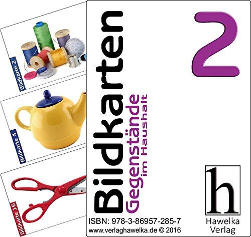 Bildkarten 2 (50 Aktivierungskarten mit Gegenstände aus dem Haushalt) - ideal in der Altenpflege, Geriatrie und Heimbetreuung, Biografiearbeit, Sprachförderung, Pädagogik, Therapie - im Spielkarten-Etui