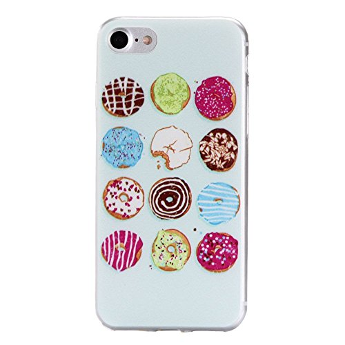"""For IPHONE 7 PLUS 5.5""""[COLORFUL TPU DTV1]Scratch-Proof Ultra Thin Rubber Gel TPU Soft Silicone Bumper Case Cover -DTPUV105 DTPUV106"""