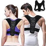 Gifort Posture Correction Straightener Espalda postural Vendaje - Fisioterapia Postura Brace para hombres o mujeres - Espalda, hombro y cuello Pain Relief - Posture Trainer