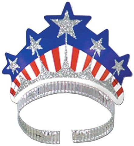 Beistle 66460 72-Pack Miss Liberty Tiara