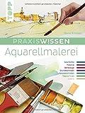 Praxiswissen Aquarellmalerei: Einzigartiges Nachschlagewerk für Farben, Pinsel, Zusatzmaterial und Techniken - Bernd Klimmer