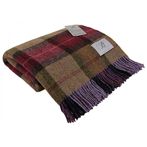 bronte-skye-check-mulberry-pure-new-shetland-wool-blanket-or-throw-185x140cm-made-in-uk-moons