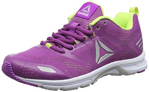 Reebok Ahary Runner, Zapatillas de Running para Mujer, Morado (Vicious Violet/Electric Flash/White/Silver), 39 EU