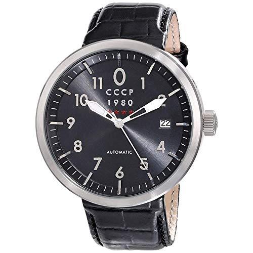 CCCP KASHALOT DRESS Leather Watch - CP-7008-01