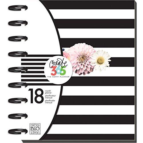 Unbekannt Me & My Big Ideas Create 365 Monatsplaner, groß, Papier, Mehrfarbig, 24.7 x 21.5 x 3.4 cm -