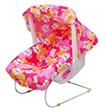 Brats N Angels 10 in 1 Baby Carry Cot pink