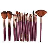 Makeup Brush,18 Pcs Schmink Pinsel Set Kabuki Brush Set Rougepinsel, Lidschattenpinsel Puderpinsel, Premium Makeup Brush Set