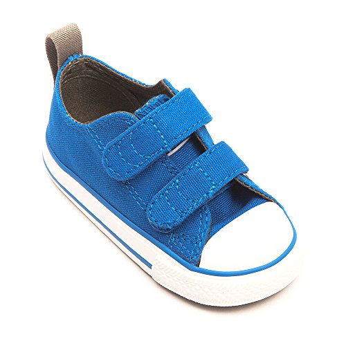 Converse Chuck Taylor All Star Ox Kinder Kapuzenjacke Seasonal 2 V, Unisex-Kinder Sneaker - Bleu (Larkspur)