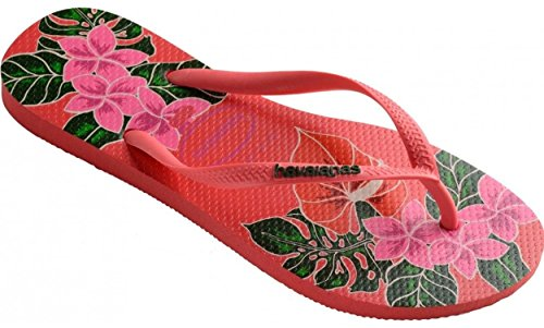 Havaianas-Slim-Floral-Coral-Womens-Summer-Flip-Flops