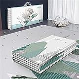 Pccory Babyspielmatte für Kinder Schachspiel weichen Boden Gymnastikmatte für Eltern und Kinder 200 * 180 Matte Kinder Teppich Spielzeug für Schlafzimmer Wohnzimmer Spielzimmer Entwicklung,B
